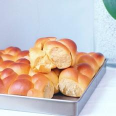 无水南瓜辫子面包