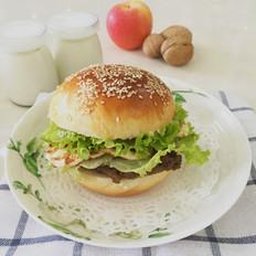 自制冷藏中种汉堡