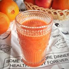 橙子苹果胡萝卜多维果汁