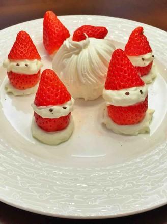 草莓圣诞老人的做法