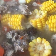 山药玉米小排汤