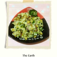 鱼豆腐炒饭