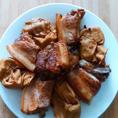 酒香百叶结烧肉