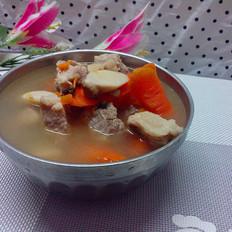 萝卜杏鲍菇排骨汤