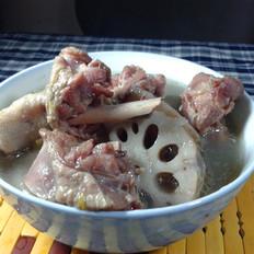 莲藕腊鸭汤