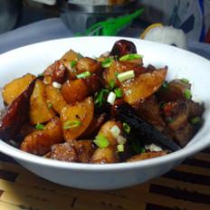土豆烧五花肉