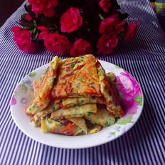 胡萝卜青瓜鸡蛋饼