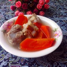 红萝卜煲排骨