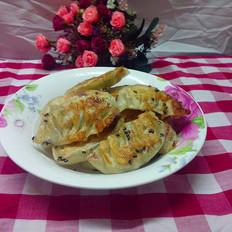 芹菜鸡蛋煎饺