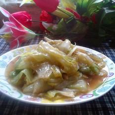 清炒包心生菜