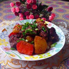 萝卜土豆烧牛肉