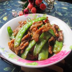 荷兰豆炒瘦肉