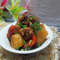 红萝卜鸡翅烧土豆