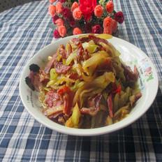 腊瘦肉炒莴笋