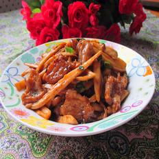 杏鲍菇炒瘦肉
