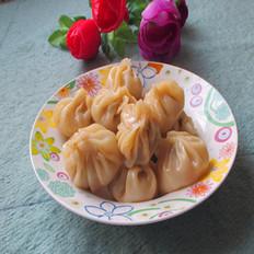 杏鲍菇瘦肉小包子