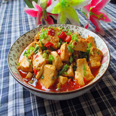 辣椒烧豆腐