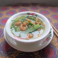 虾米青瓜汤