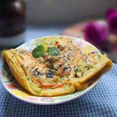 红萝卜西葫芦饼