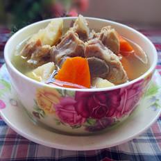 红薯萝卜煲排骨