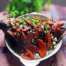 红萝卜烧罗非鱼