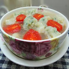 韭菜瘦肉云吞