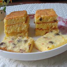橙香葡萄干蛋糕