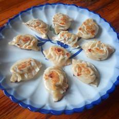芹菜菌菇煎饺