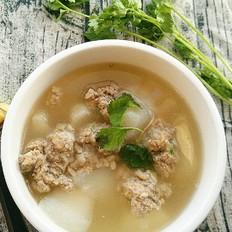 【果子木】冬补抗霾|白玉肉丸汤