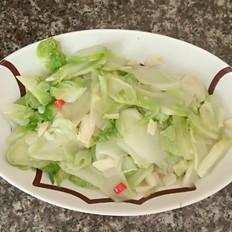 清炒芥菜头
