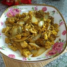 圆葱炒鸡蛋