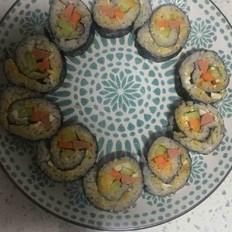 咸鸭蛋寿司