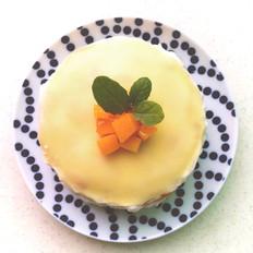 8寸芒果千层蛋糕