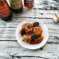 快手的东北炖菜这样做——土豆炖鸡