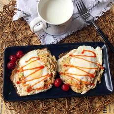 鸟巢鸡蛋饼