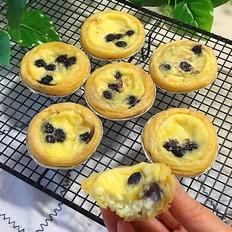 蓝莓栗子蛋挞