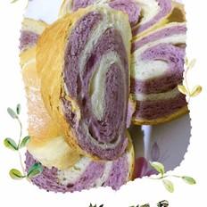 紫气双色吐司