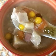 五彩芋圆汤