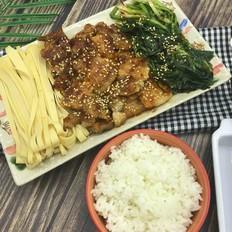 烤韭菜五花肉