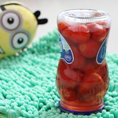 自制草莓罐头(附洗草莓秘方)