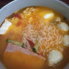 番茄鸡蛋细米粉