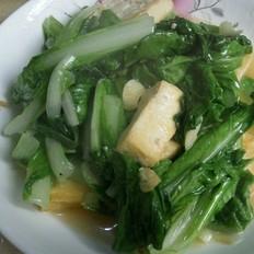小白菜豆腐