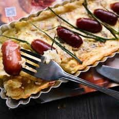意大利香肠洋葱土豆派