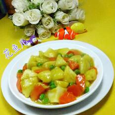 咖喱土豆年糕