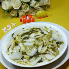 雪菜笋尖炒年糕