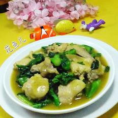 咖喱菜芯鸡翅