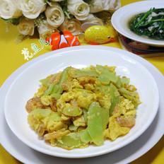 开洋莴笋炒鸡蛋
