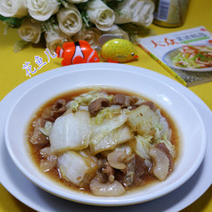 猪肉炒白菜