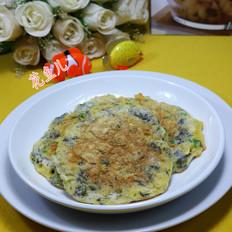 虾皮紫菜鸡蛋饼