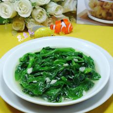 蒜香木耳菜